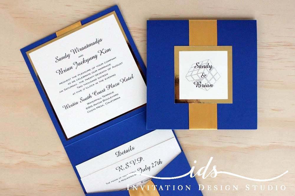 Booklet Custom Wedding Invitations