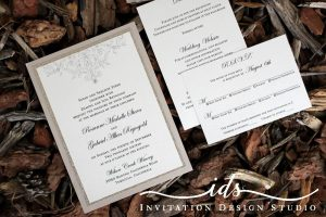 Flat Cards Simple Elegance Custom Wedding Invitations
