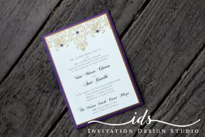Pocket Cards (portrait) Custom Wedding Invitation